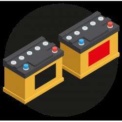 Когда одинаковые аккумуляторы, а наклейки разные...