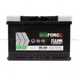 Аккумулятор FIAMM Eco Force AGM 6СТ 70Ah II-+II VR760