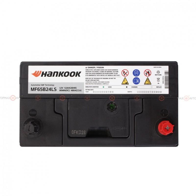 Аккумулятор HANKOOK SMF 6CT 52Ah Asia II-+II MF60B24L