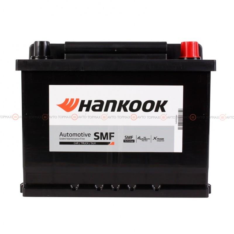 Аккумулятор HANKOOK SMF 6CT 62Ah II-+II MF56219