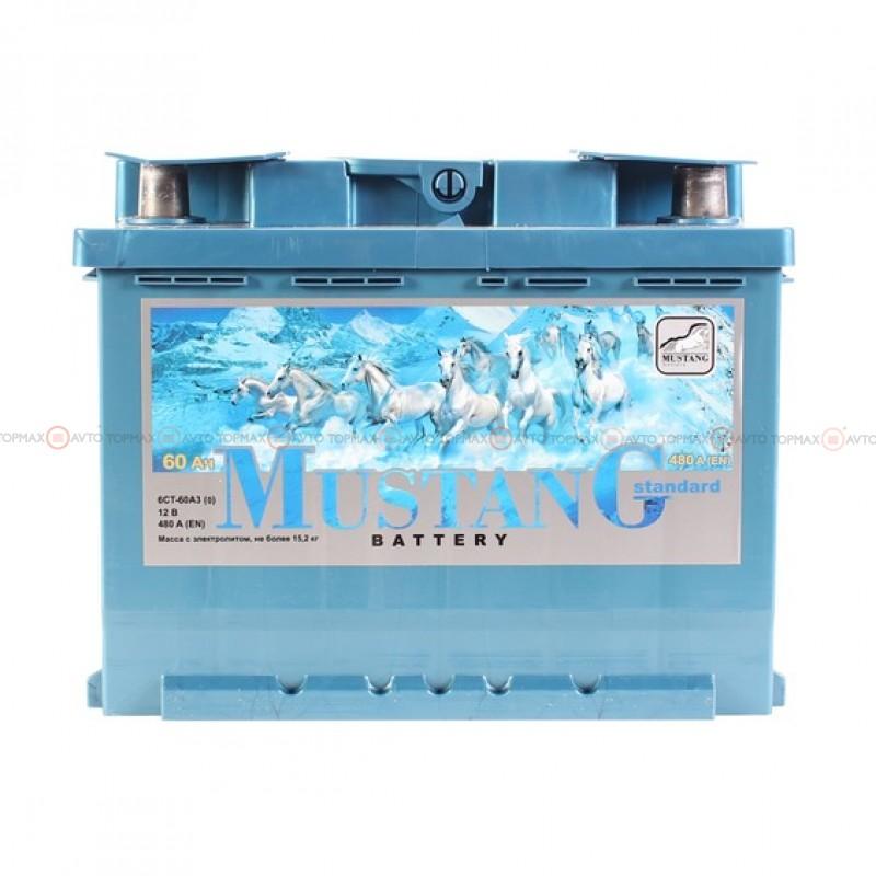 Аккумулятор MUSTANG 6CT 60Ah II-+II