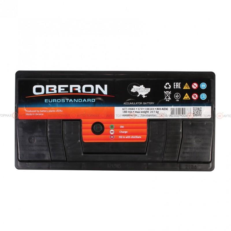 Аккумулятор OBERON Eurostandard 6CT 100Ah II+-II