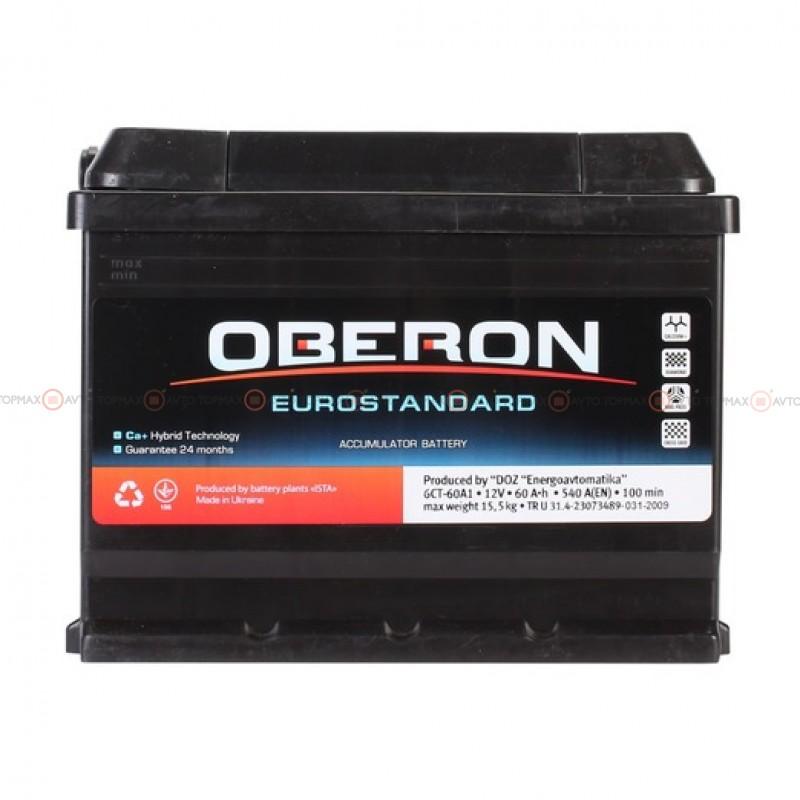 Аккумулятор OBERON Eurostandard 6CT 60Ah II+-II