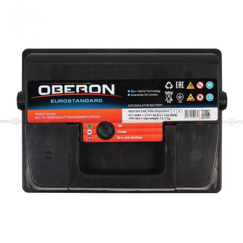 Аккумулятор OBERON Eurostandard 6CT 60Ah II-+II