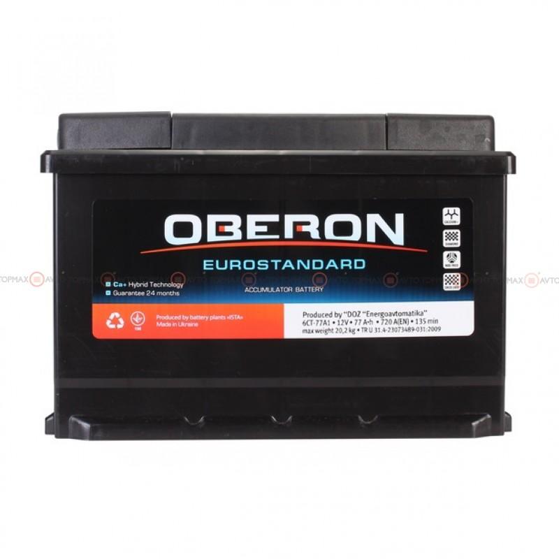 Аккумулятор OBERON Eurostandard 6CT 77Ah II+-II