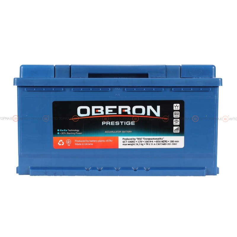 Аккумулятор OBERON Prestige 6CT 100Ah II-+II