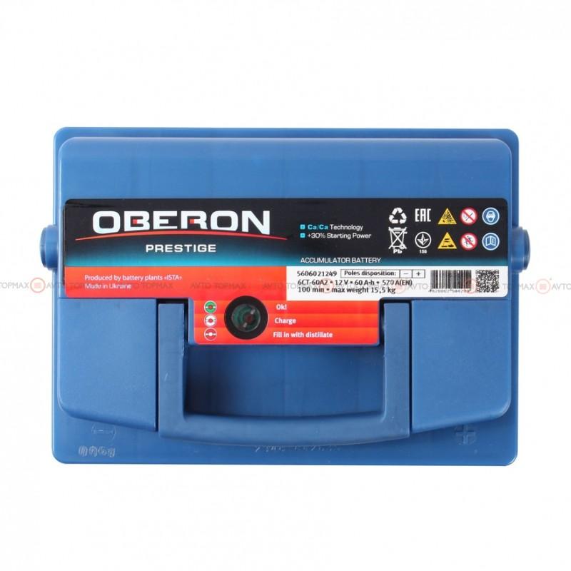 Аккумулятор OBERON Prestige 6CT 60Ah II-+II