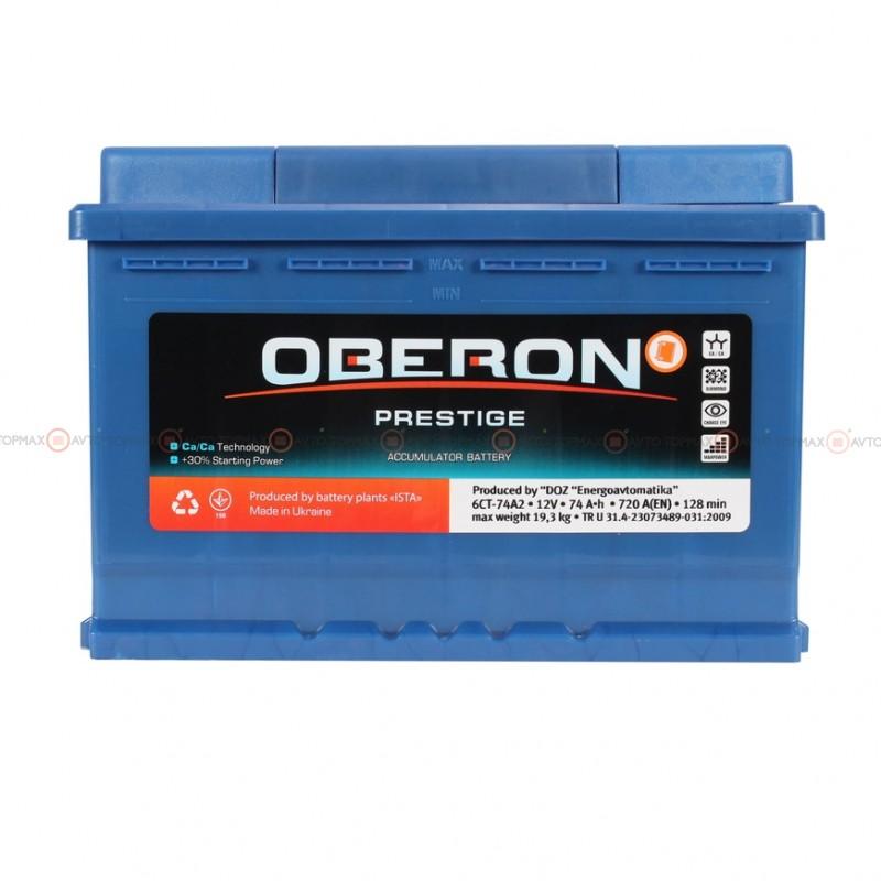 Аккумулятор OBERON Prestige 6CT 74Ah II-+II