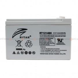 Аккумулятор RITAR AGM 14Ah II+-II RT12140H