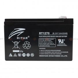 Аккумулятор RITAR AGM 7Ah II+-II RT1270B