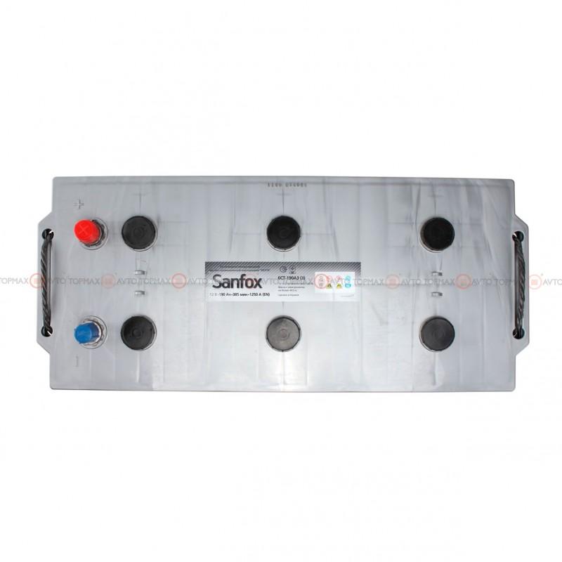 Аккумулятор SANFOX Truck 6CT 190Ah II+-II