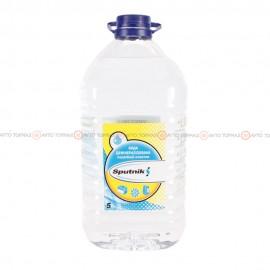 Вода деминерализованная SPUTNIK 5л