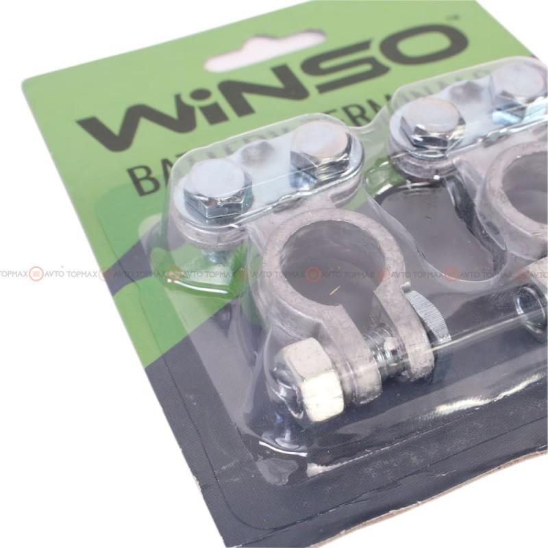 Клеммы WINSO свинец легковые 146200