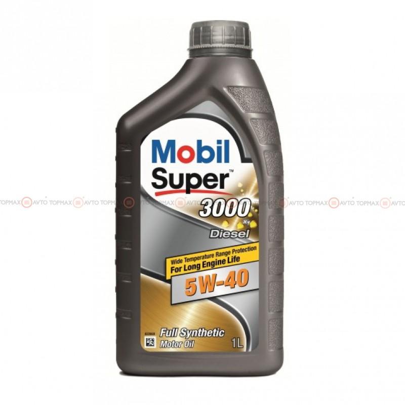Масло моторное MOBIL Super 3000 Diesel 5W-40 (1л)