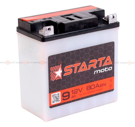 Akkumulator-STARTA-Moto-6CT-9-(Pod-bolt)-R-AngleLeft