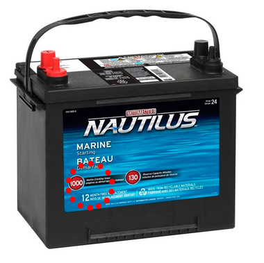 Аккумуляторы для лодочного транспорта