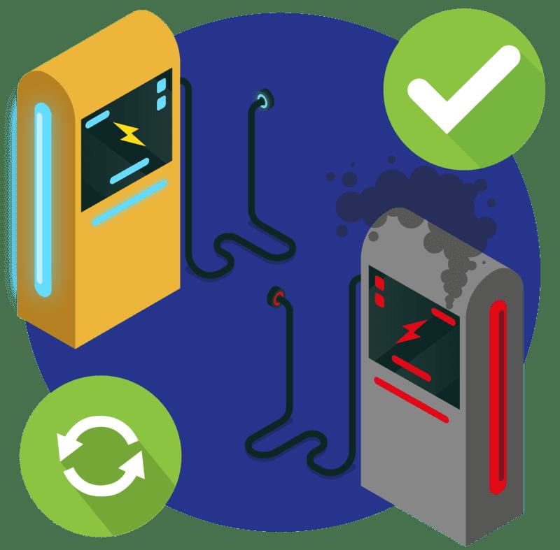 купить зарядное устройство для аккумулятора с гарантией