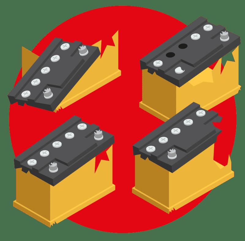 прием отработанных аккумуляторов