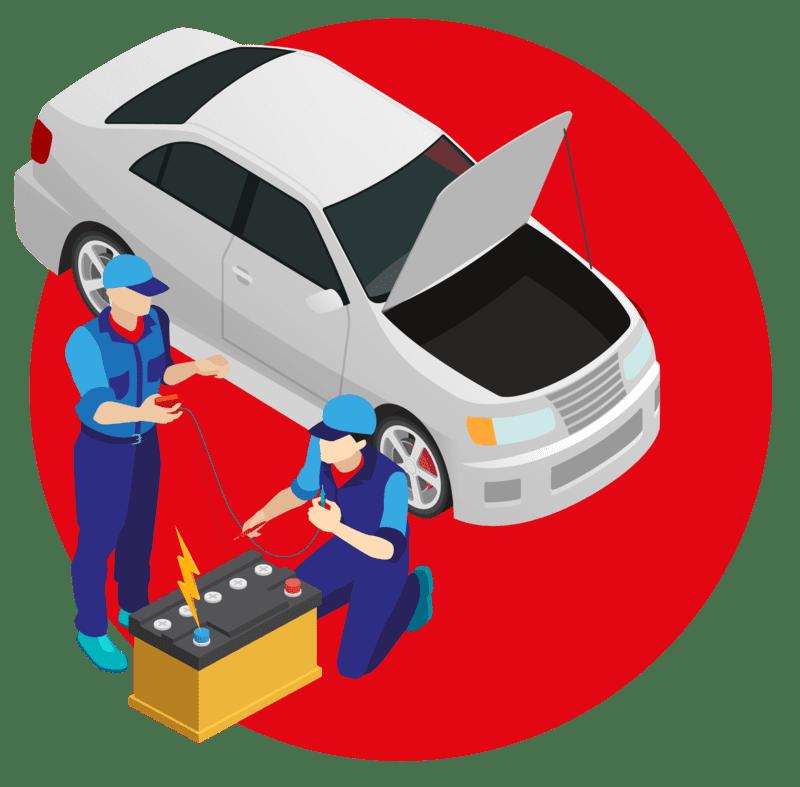 купить аккумулятор с заменой на автомобиле