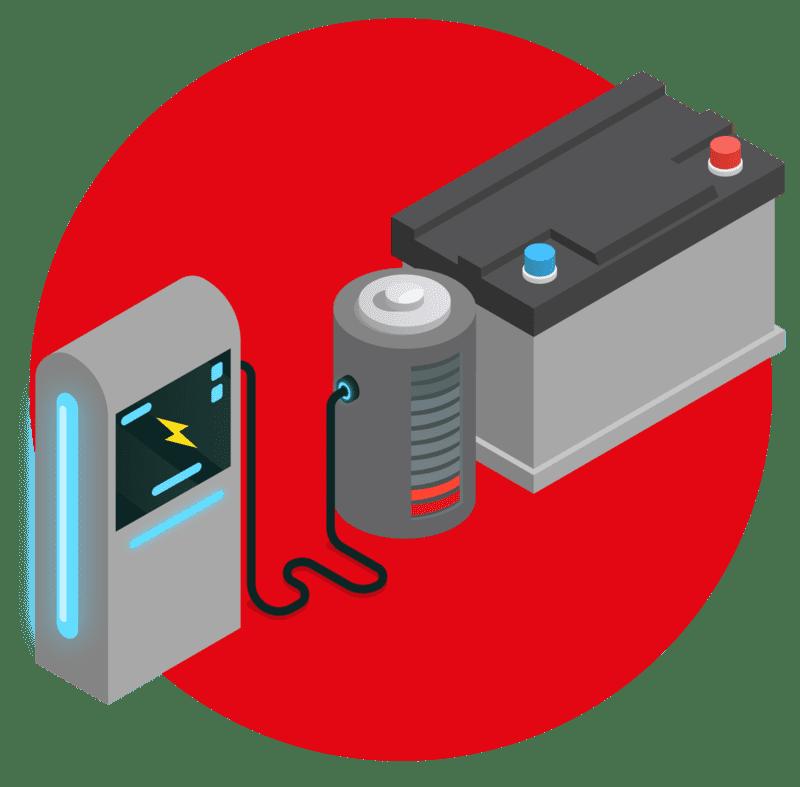 где в Киеве зарядить автомобильный аккумулятор