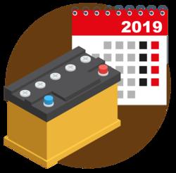 автомобильные аккумуляторы дата