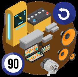 автомобильные аккумуляторы купить с возвратом